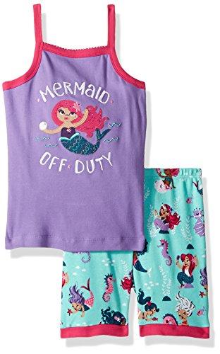Hatley Girl's Organic Cotton Sleeveless Pyjama Sets