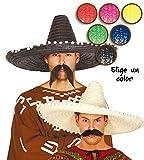 FIESTAS GUIRCA Gorro Maxi Mexicano de 60 cm para Disfraz Mexico