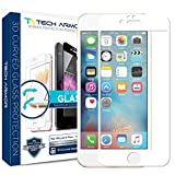 Best Tech Armor Iphone 6 Protections - Tech Armor SP-BG3D-APL-IP6P-WHT-1 3D Curved Screen Protector (White) Review