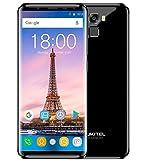 OUKITEL K5000 - (18: 9 rapporto) Infinity pieno schermo 5,7 smartphone Android 7,0 4G, fotocamera doppia 21MP + 16MP, RAM 4G RAM Octa Core, batteria 5000mAh 9V/2A Carica veloce - Nero