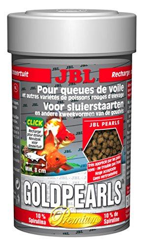 Mangime JBL Goldpearls da ml.100 in granuli di altissima qualità per pesci rossi anche pregiati