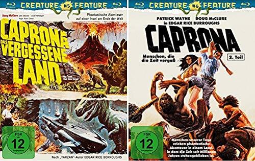 Caprona 1+2 / Das vergessene Land + Menschen, die die Zeit vergaß [Blu-ray Set]