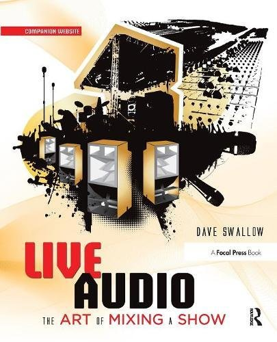 Live Audio: The Art of Mixing a Show
