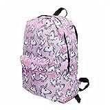 Yinew Fashion Einhorn Pattern Rucksack Reisetasche Gepäck Tragetasche Tasche Für Schulreise