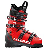 HEAD Unisex- Erwachsene, red/Black, Skischuhe ADVANT Edge 75, 29.5