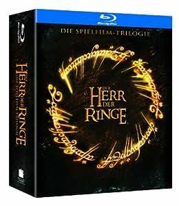 Der Herr der Ringe - Die Spielfilmtrilogie (6 Discs, Wende-Steelbooks im Sammelschuber - exklusiv bei Amazon.de) [Blu-ray]