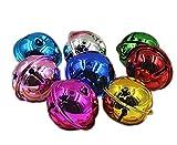 XPGG 50PIECES multicolore Jingle Bells Musical campanelli da slitta per decorazioni di Natale gioielli fai da te bricolage, 24 mm