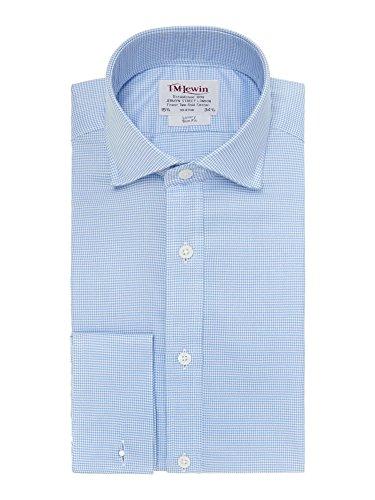 tmlewin-camisa-casual-cuadrados-cutaway-manga-larga-para-hombre-azul-azul