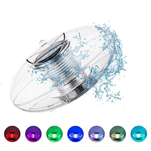 Preisvergleich Produktbild Lihynmy Poolbeleuchtung Pool Licht Wasser Schwimmende Lampen Solar Schwimmkugel Wasserdicht Teichbeleuchtung Farbwechsel für den Garten Baum Teich Swimming Pool