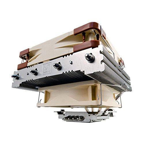 Noctua NH-L12, Premium Low-Profile CPU Kühler mit leisem 120mm PWM Lüfter (Braun)