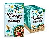 W.K Kellogg Crunchy Müsli Coconut & Cashew, ohne Zuckerzusatz, 5er Pack (5 x 400 g)