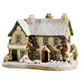 Lilliput Lane Winter at Hilltop House