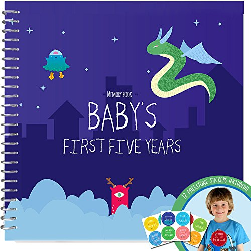 BABY MEMORY BOOK + STICKERS - Unconditional
