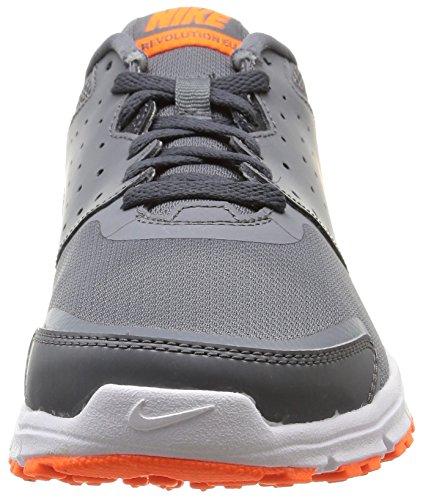 Nike Revolution Eu - Sneaker pour homme Grigio/Arancione/Bianco