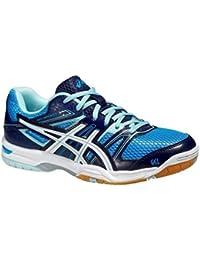 adidas, Scarpe da Badminton Bianco bianca/Blue/Black