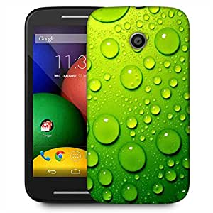 Snoogg Drops On Phone Designer Protective Phone Back Case Cover For Motorola E2 / MOTO E22