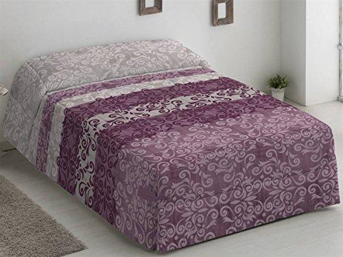Camatex - Conforter Catalina Cama 90 - Color Malva