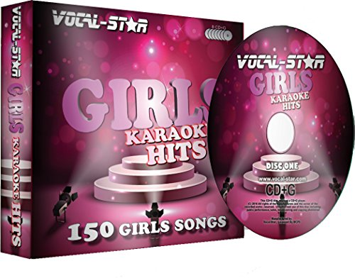 Vocal-Star Girls Hits Karaoke-Sammlung CDG Disc-Pack 8 Discs - 150 Lieder - 3