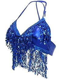 703cfd88c214 Amazon.it: Reggiseno Paillettes - Abbigliamento specifico: Abbigliamento