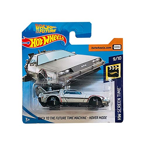 Hot Wheels Back to The Future Time Machine Hover Mode HW Screen Time 108/250 2019 Short Card (Back To The Future Time Machine)