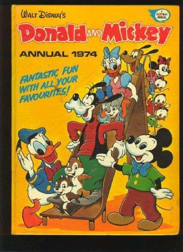 Walt Disney's Donald and Mickey annual. 1974.