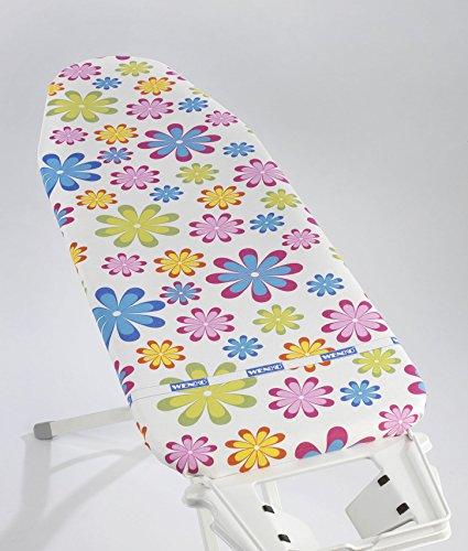 WENKO Bügelbrettbezug 125 x 45 cm Flower Blumen Bunt Bügeltischbezug