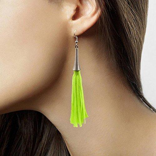 Folat Creative Kostümohrringe-Neongrün