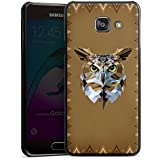 Samsung Galaxy A3 (2016) Housse Étui Protection Coque Hibou Hibou Uhu