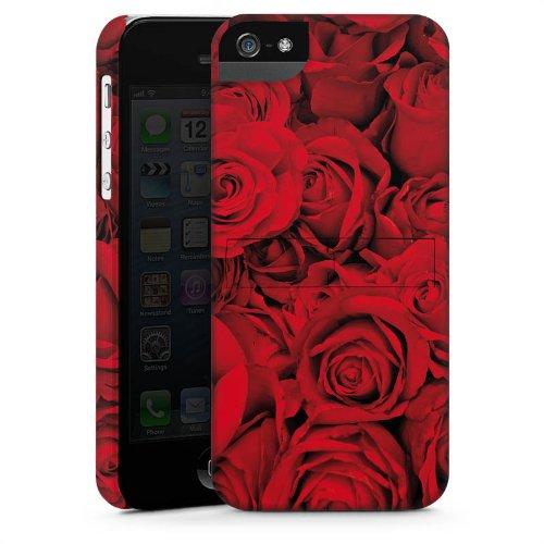Apple iPhone 4 Housse Étui Silicone Coque Protection Rose Roses Roses CasStandup blanc