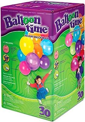 Bombona de Helio con 30 Globos - Ballon Time