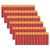COSORO Bombillas de repuesto de dardos de espuma roja de 9,5 cm para...