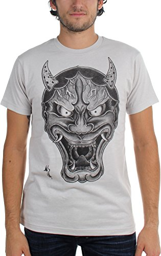 Black Market Art - Herren Og Hanya T-Shirt, Medium, Gray Black Market Art