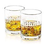 Vasos de Whisky Grabados OLOM | Hecho en Europa | Caja de regalo |...