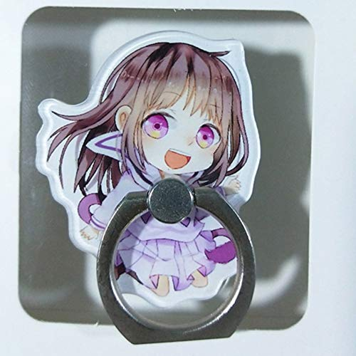 Haushele OFD 1 Stück Universal Noragami Aragoto Yato Handyhalter Ständer 360 Grad Acryl Fingerring Für Telefon Handy Unterstützung Figur Spielzeug(H01)