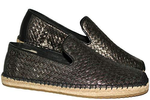 UGG Australia Damen Sandrinne schwarz/Silber, 37 EU (Silber Stiefel Ugg)
