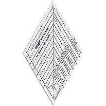 60 ° Forma del Diamante edredón diseño y trabajo de la plantilla regla que acolcha