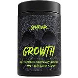 GYMPUNK GROWTH, Anabolic Support, 180 Kapseln für maximalen Pump und Muskelaufbau, mit Creatin Ethyl Ester HCL, AAKG, Taurin und Beta-Alanin