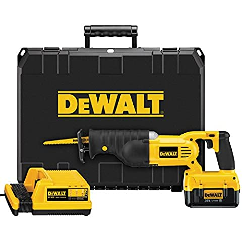 DeWalt DC305M2-GB 36V Cordless Li-ion Reciprocating Saw with 2 x 4Ah Batteries