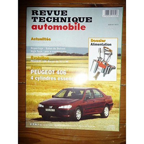 Revue technique automobile n° 592 Peugeot 406 ess 4 cylindres par E-T-A-I