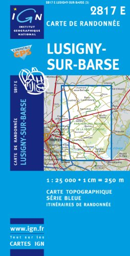 Lusigny-sur-Barse GPS: IGN2817E