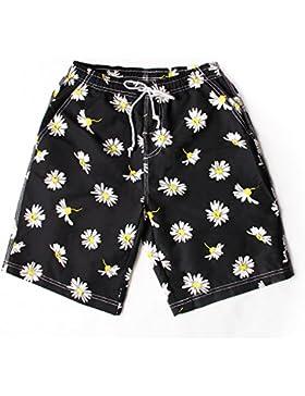 HAIYOUVK Holiday Beach Pants Men'S Quick-Drying Loose Size Surfers Flat Corner Seaside Pants Shorts Shorts Swimwear...
