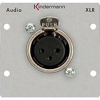 Kindermann 7441000416XLR Stecker Steckdose