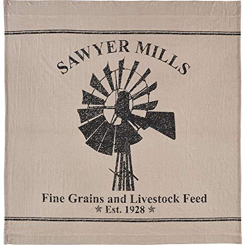 VHC Marken Sawyer Mühle Vorhang für die Dusche (April Showers-stoff)