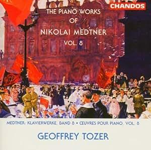 Piano Works Of Nikolai Medtner , Vol 8 : N. Medtner  - CD Album