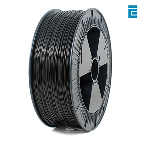 ICE Filaments ICEFIL1PLA103 PLA filament, 1.75mm, 2.3 kg, Brave Black