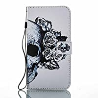 Huawei Mate 9 Wallet Case, ESSTORE-EU [Free USB Charging Cable] with Flip/Stand/Credit Card Holder/Magnetic Closure/TPU Bumper/360 Full Body Protection for Huawei Mate 9, Skeleton