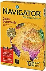 Navigator NAV1030 Extraglattes Papier für Farbdokumente (120 g/qm, Format A3) 500 Blatt weiß