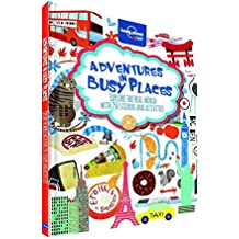 Lonely Planet Kids Activities & Stickers - Adventures in Busy Places - 1ed - Anglais
