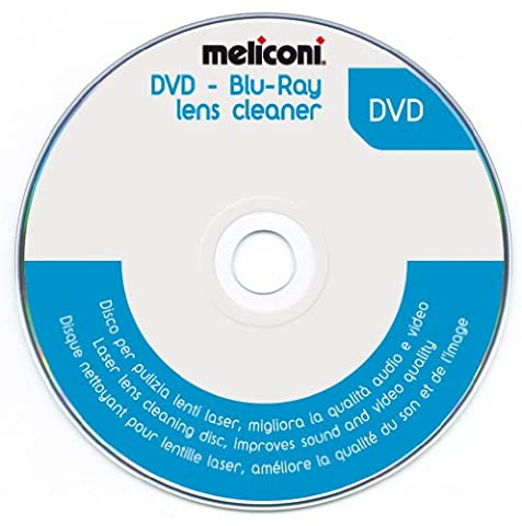 MELICONI - DVD LENS CLEANER - Disque