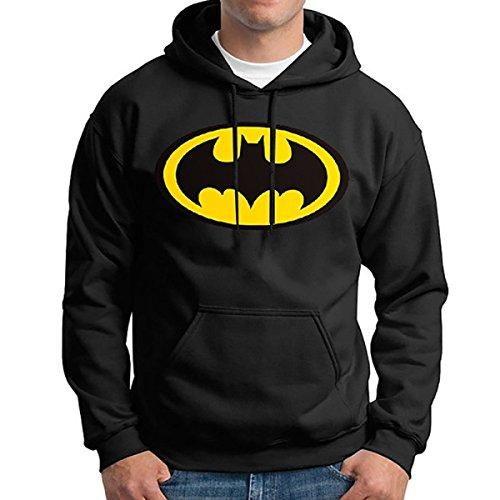 Inception Pro Infinite Sweat - pour Homme - Batman - Logo - À Capuche - Poches (Taille XXL)